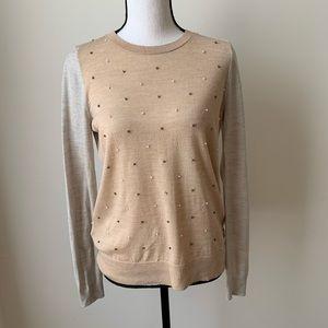 Loft Beaded Sweater